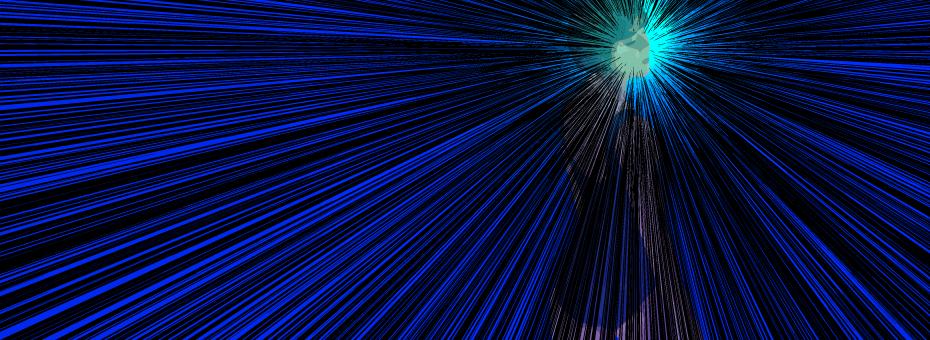 「ラフ」フィルターを使って集中線を描く -Illustrator-